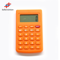 China Wholesale Orange Portable Calculator/Office Calculator For Business 10007204