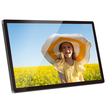 "Video, music, photo and backgroud music 15.6"" digital photo frame"