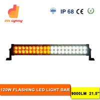 120W Amber LED Strobe Light 12V Car Strobe Light Offroad LED Bar
