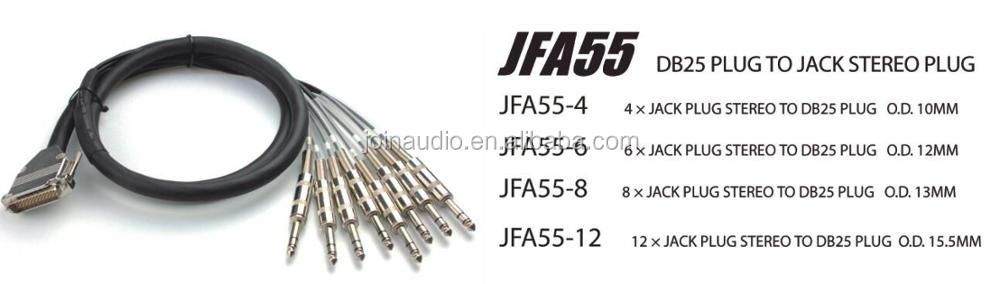 JFA Series OFC Multicore Link System Stage Cable