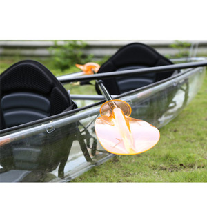 Clear Plastic Pc Stitch Double Seat Kayak