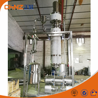 Stainless steel 2 square meter rotary vacuum wiped thin film evaporator price