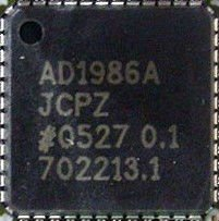 100% NEW ADI AD1986A AC 97 and HD Audio SoundMAX Codec QFN 48pin Power IC Chip(AD1986AJCPZ)