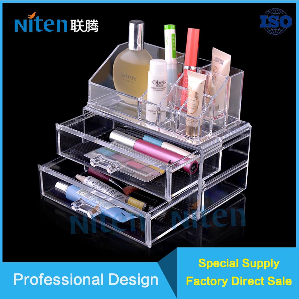 Cheap acrylic makeup organizer