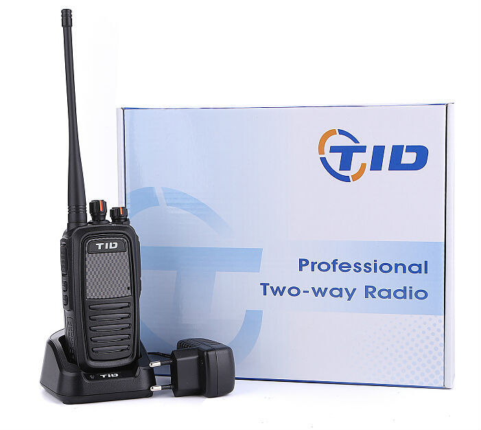 Td-q8 Long range two way radio communication 8w security radio set