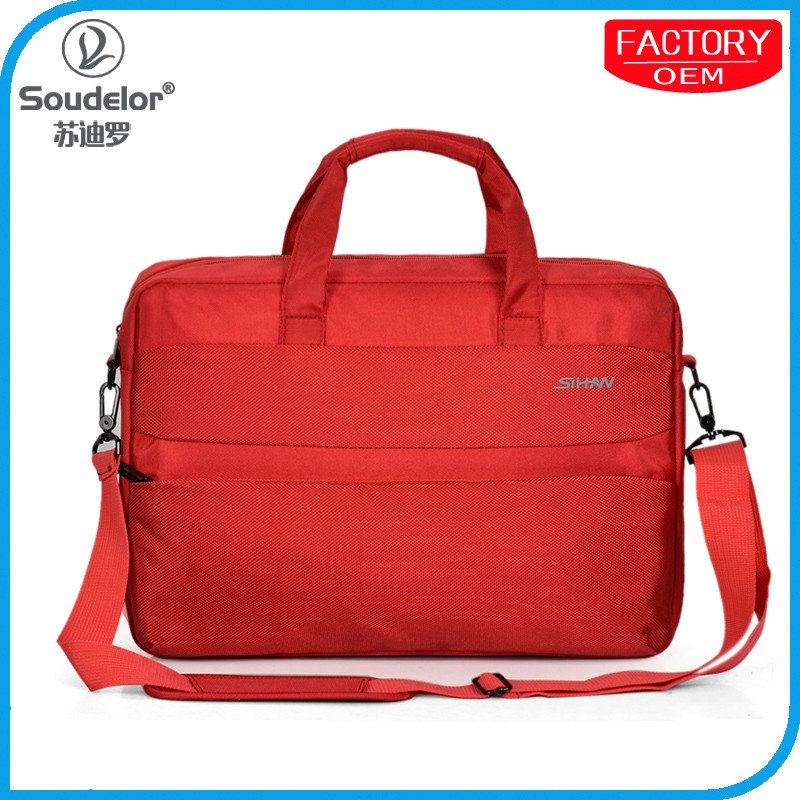 New hot Selling laptop trolley bag leather laptop bag