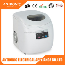 Antronic ATC-IM-004A GS/CE/ETL 12kgs/24h portable crystal mini ice block maker commercial block ice maker