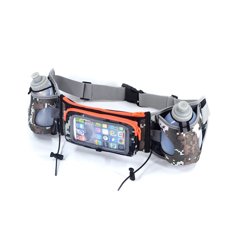 Running Belt Waist Pack Water Resistant Runners Belt Fanny Pack for Hiking