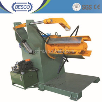 steel wire rope coiling and uncoiling machine