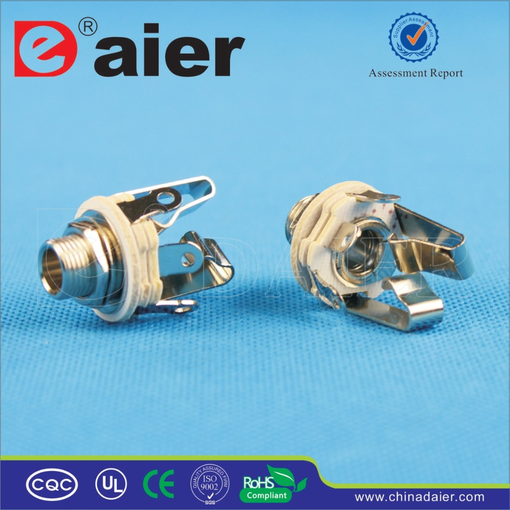 Daier Female 1/4 Jack 6.35mm type