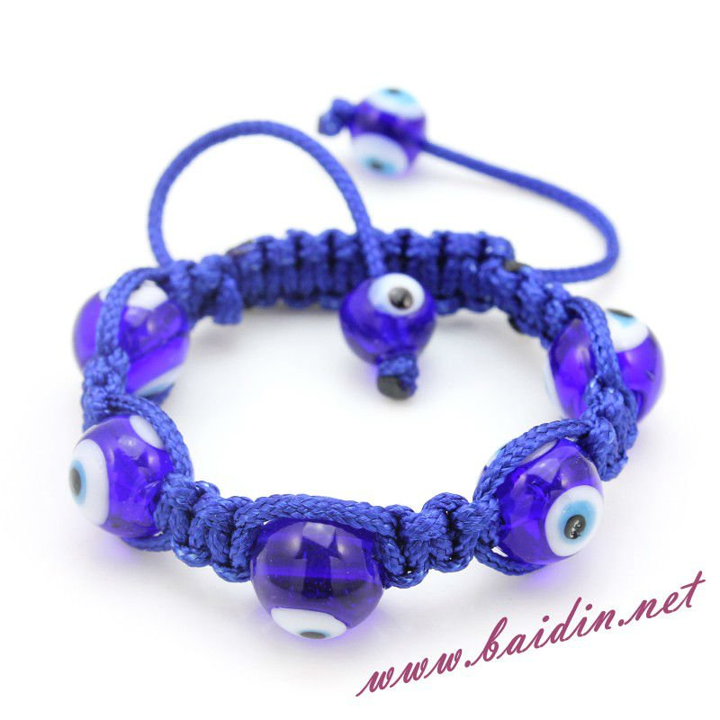 children evil eye 12cm shamballa bracelet 2017 lucky eye jewelry