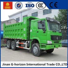 6x4 8x4 6 wheel tipper / sinotruk howo dump truck for right hand driving vehicle