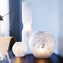 wholesale e14 g9 frosted blown glass lamp shade