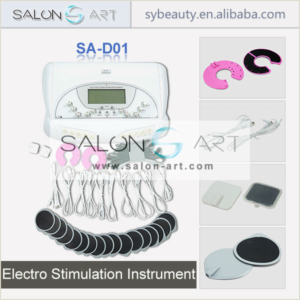 portable electrodes tens for skin tighten and body slimming SA-D01