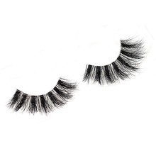 Customized package clear band 100% mink eyelashes for makeup