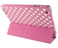 Polka dot belt clip case for ipad mini