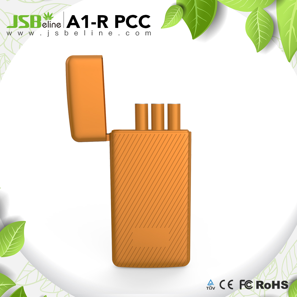 2018 Colorful refillable rechargeable 1250mah capacity pcc e-cigarette lighter usb