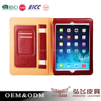 2016 Shenzhen wholesale book style protective case for iPad air 2