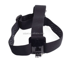 On sale Elastic Adjustable Head Strap For Go Pro He ro 4 3+/3/2/1, with anti-slide glue like original one, with storage bag,GP23