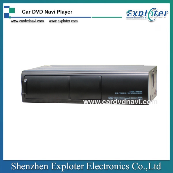 Universal 6 Disc CD DVD Changer DVD CD Player for Audi BMW