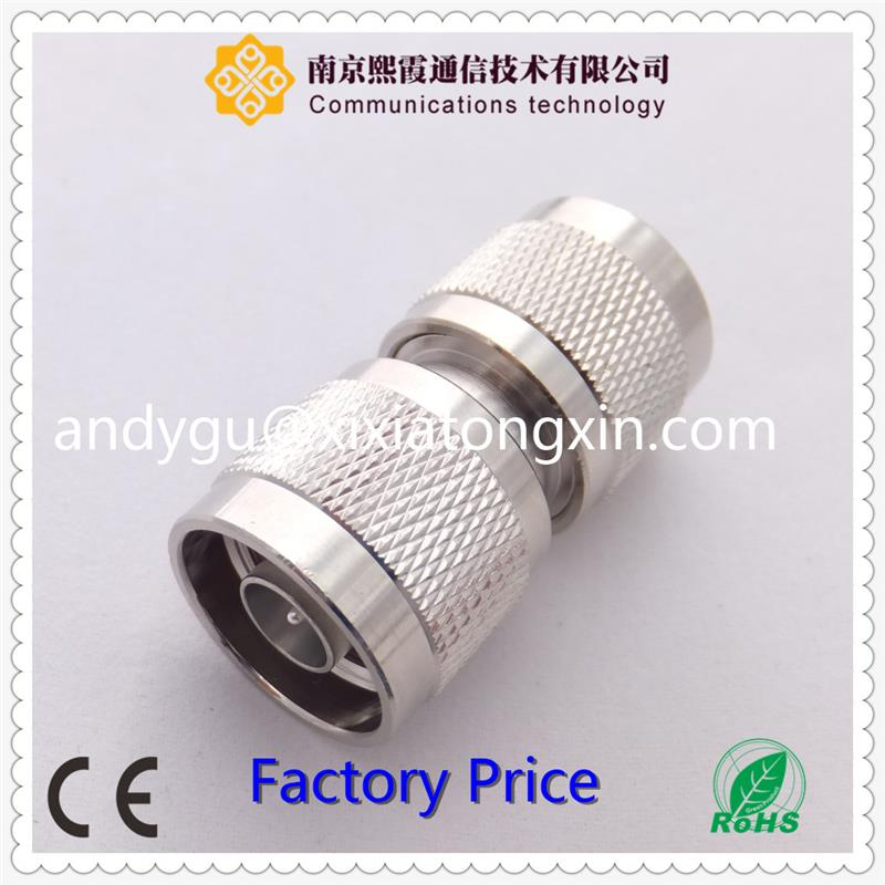 4 hole flange N male coaxial connector for semi rigid cable XiXia Communication