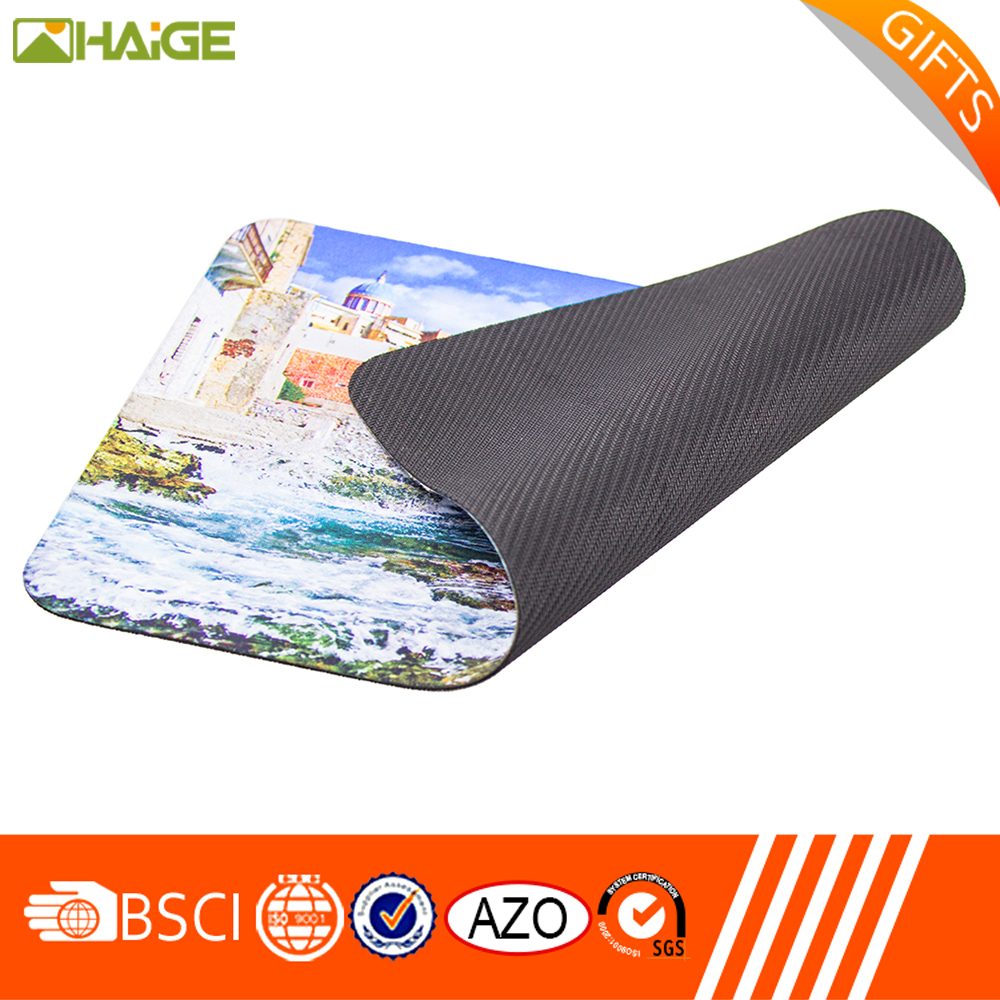 China Supplier print anti-slip mousepad in China