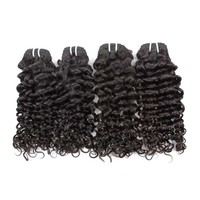 XBL Luxury Jerry Curl Peruvian Hair Extensions, Top Grade Real Peruvian Hair