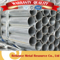 TENSILE STRENGTH SCHEDULE STEEL PIPE WITH ZINC COATING