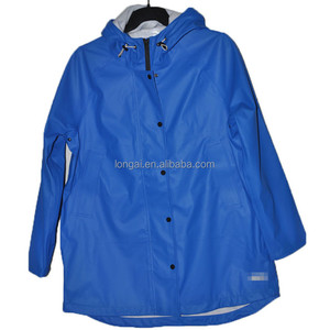 adult foldable waterproof rain jacket raincoat
