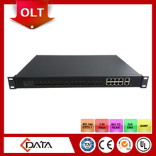 EPON FTTH OLT/Optic Fiber Equipment with 8 PON Ports