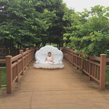 Custom Made Inflatable Shell Sofa/inflatable shell mattress for Sale