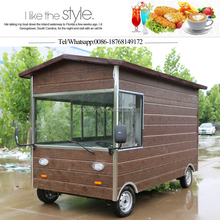 China Mobile Food Trucks/Breakfast Trailer Cart/Food Cart For Sale europe
