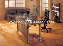 office glass table,glass office table design,office executive glass table modern AT-31