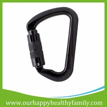 26KN Camping Auto Locking Aviation Aluminum Climbing Carabiner