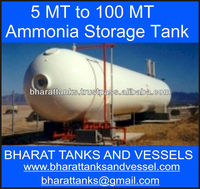 """5 MT to 100 MT Ammonia Storage Tank"""