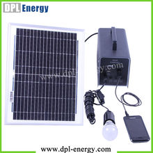 Solar charger with ac wall socket,solar panel power storage internal battery