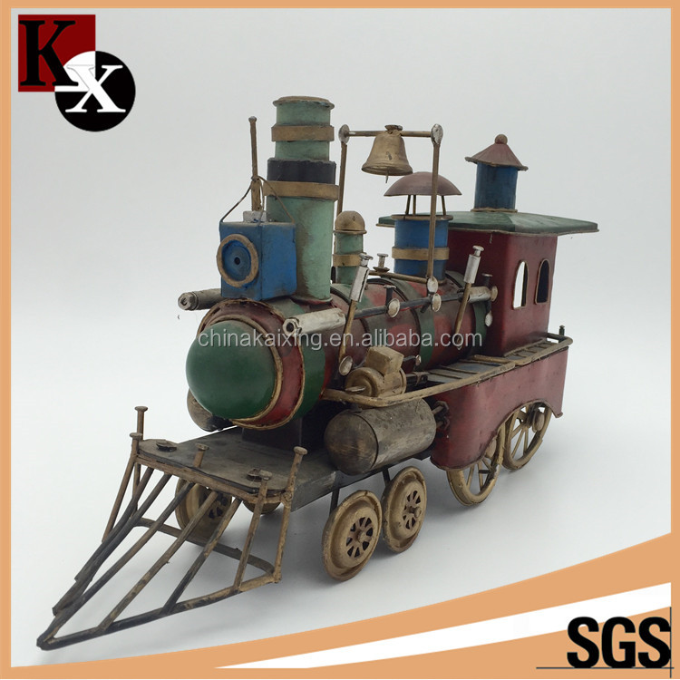 Economical custom design kids train track classical moto model