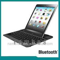Auto Sleep Portable Bluetooth Keyboard Aluminum Wireless Keyboard for iPad Air for iPad 5
