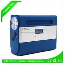 Battery powered air pump for inflate/deflate air beds/mattress/tentsair compressor inflatorair compressor inflator
