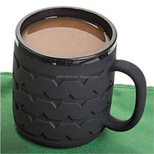 High quality best selling handle silicone tyre mug
