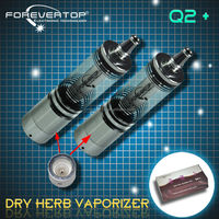Forevertop modern electric smoking water vapor pipes Dry Herb Q2+ Vaporizer with filtration system Hot Selling in US