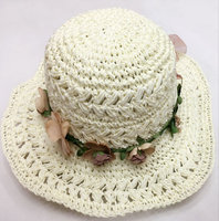woman fedora paper straw hat for sale
