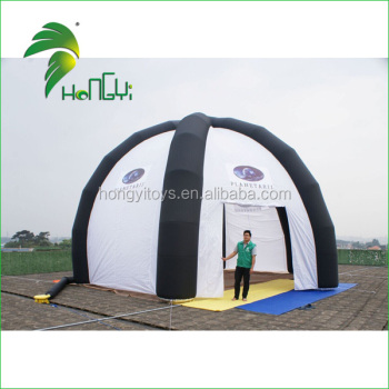 Customized Large Inflatable Igloo Tent , PVC Inflatable Lawn Tent , Inflatable Advertising Tent