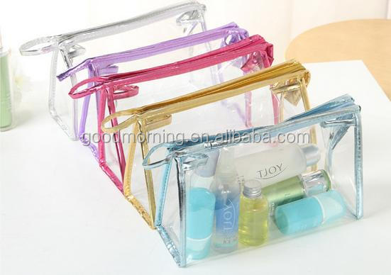Personalized Monogram Clear PVC make up bag