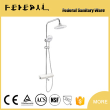 Cheap Hotel Style Wall Mounted Brass European Upc Shower Faucet With Diverter