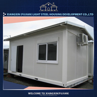 Good earthquake resistance steel container house luxury