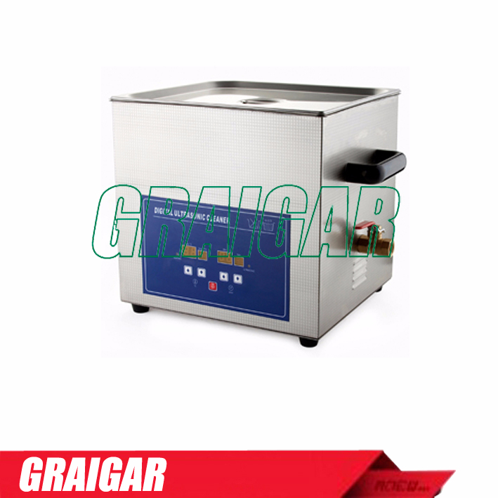 PS-G60(A)(with Timer & Heater) Large capacity Digital Ultrasonic Cleaner Wide-Diameter Transducer for Best Cleaning Result