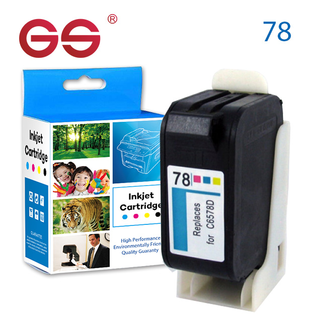 For HP 45 Black 78 Tri-color 2-pack Original quality Ink Cartridges