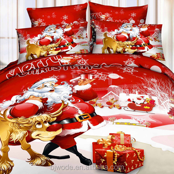 China product custom printed cotton fabric women seks 3d duvet cover set