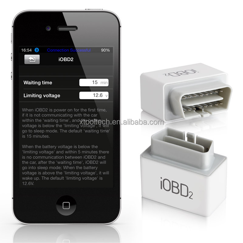 Xtool OBD 2 Bluetooth 4.0 OBD Car Scanner for Android/iOS